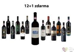 Brunello 12+1 lahev za jedinou korunu