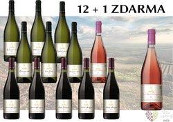 Víno z vinařství Kolby 12+1 lahev za jedinou korunu