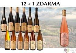 Víno z vinařství Kovacs 12+1 lahev za jedinou korunu