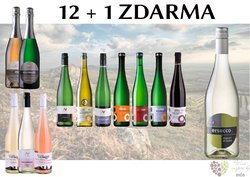 Víno z Nového vinařství 12+1 lahev za jedinou korunu