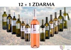 Víno z vinařství Sonberk 12+1 lahev za jedinou korunu