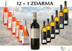 Víno z vinařství Volařík 12+1 lahev za jedinou korunu