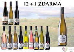 Víno z vinařství Špalek 12+1 lahev za jedinou korunu