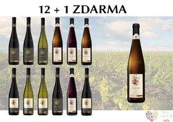 Víno z vinařství Habánské sklepy 12+1 lahev za jedinou korunu