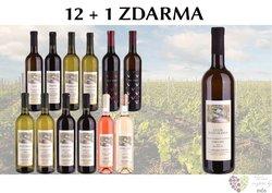 Víno z vinařství Františka Mádla 12+1 lahev za jedinou korunu