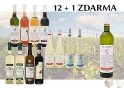 Víno z vinařství Patria Kobylí 12+1 lahev za jedinou korunu