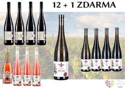 Víno z vinařství Templářské sklepy 12+1 lahev za jedinou korunu