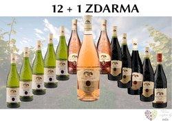 Víno z vinařství Neoklas 12+1 lahev za jedinou korunu