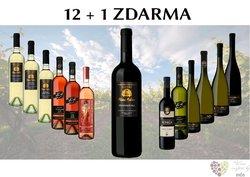 Víno ze Zámeckého vinařství Bzenec 12+1 lahev za jedinou korunu
