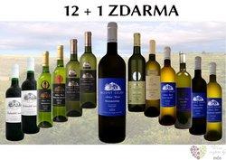 Víno z vinařství Modrý sklep 12+1 lahev za jedinou korunu