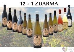 Víno z vinařství Veverka 12+1 lahev za jedinou korunu