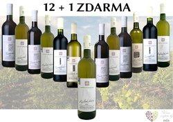 Víno z vinařství Skoupil 12+1 lahev za jedinou korunu