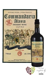 "Commandaria "" Alasia "" 2006 sweet dessert wine of Cyprus     0.75 l"