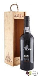 Calem 1997 quinta do Sagrado single quintas declared vintage ruby Porto Doc 20%vol.  0.75 l