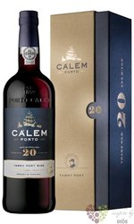 Cálem 20 years old wood aged tawny Porto Doc 20% vol.   0.75 l