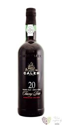 Cálem 20 years old wood aged tawny Porto Doc 20% vol.   0.375 l