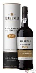 Burmester Colheita 1989 single harvest Tawny Porto Doc 20% vol.  0.75 l