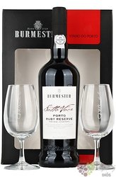 "Burmester ruby reserve "" Sotto Voce "" 2 glass pack Porto Do 20% vol. 0.75 l"