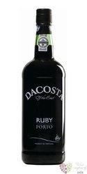 """Dacosta """" Ruby """" fine Porto Doc 19% vol.  0.75 l"""