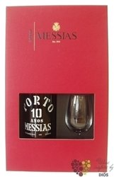 Messias 10 years old 2glass pack wood aged Tawny Porto Doc 19% vol. 0.75 l