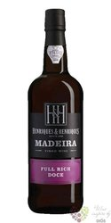 "Henriques & Henriques "" Full rich "" aged 3 years vinho Madeira Do 19% vol.     0.75 l"