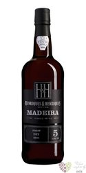"Henriques & Henriques "" Finest dry "" aged 5 years vinho Madeira Do 19% vol.0.75l"