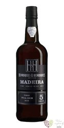 "Henriques & Henriques "" Full rich "" aged 5 years vinho Madeira Do 19% vol.  0.75 l"
