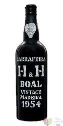 "Henriques & Henriques 1954 "" Boal "" vintage Madeira Do 19% vol. 0.75 l"