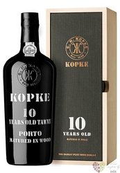 "Kopke 10 years old "" Wood aged Tawny "" Porto Doc 20% vol.    0.75 l"