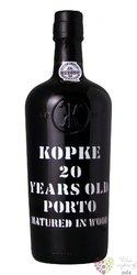 Kopke 20 years old wood aged Tawny Porto Doc 20% vol.  0.75 l