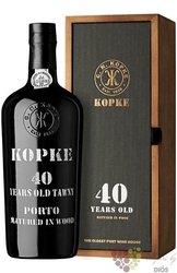 Kopke 40 years old wood aged Tawny Porto Doc 20% vol.  0.75 l