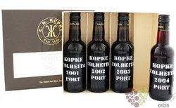 "Kopke collection "" Colheita "" luxury set of Porto Doc    4 x 0.20 l"