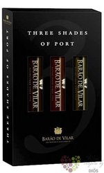 "Barao de Vilar "" Three Shades of Porto "" Baron Vilard Porto Doc  3x0.60 l"