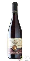 Rulandské modré 2011 pozdní sběr z vinařství Vinné sklepy Lechovice     0.75 l