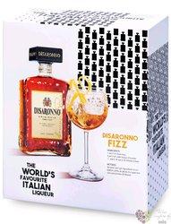 """diSaronno """" Original """" fizz set Italian amaretto by Illva Saronno 28% vol.  0.70 l"""