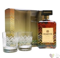 "diSaronno "" Original 2 glass "" Italian amaretto by Illva Saronno 28% vol.  0.70l"