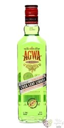 Agwa de Bolivia Dutch coca leaf liqueur 30% vol.  1.00 l