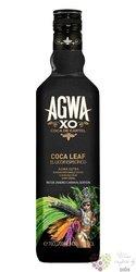 """Agwa de Bolivia """" XO """" Dutch Coco de Cartel especial liqueur 43% vol.    0.70 l"""