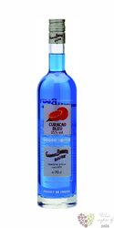 "Gabriel Boudier "" Curacao bleu "" French tropical liqueur 25% vol.     0.70 l"