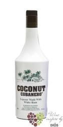 """Cubanero """" Coconut """" Spanish white rum liqueur 20% vol.    1.00 l"""