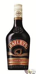 "Baileys "" Hazelnut "" flavored Irish whiskey cream liqueur 17% vol.    0.70 l"