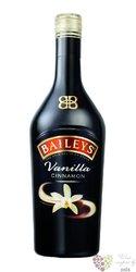 "Baileys "" Vanilla cinnamon "" flavored Irish whiskey cream liqueur 17% vol.  1.00 l"