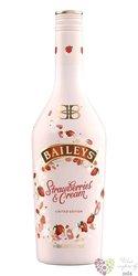 "Baileys "" Strawberries Cream "" Irish whiskey cream liqueur 17% vol.  0.70 l"