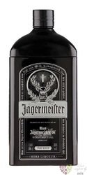 "Jagermeister "" Black "" tin box original German herbal liqueur 35% vol.  1.00 l"