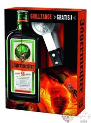 "Jagermeister "" Barbecue set I. "" original German herbal liqueur 35% vol.  0.70 l"