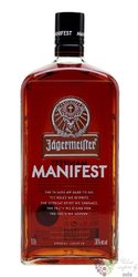"Jagermeister "" Manifest "" German herbal liqueur 35% vol.  1.00 l"