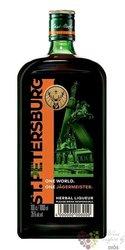 """Jagermeister One world """" st.Petersburg """" German herbal liqueur 35% vol.  1.00 l"""
