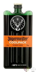 """Jagermeister """" Original Coolpack """" German herbal liqueur 35% vol.  0.35 l"""