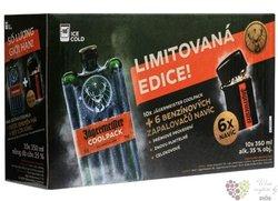 "Jagermeister "" Coolpack - lighter limited edition "" German herbal liqueur 35% vol. 10x0.350 l"
