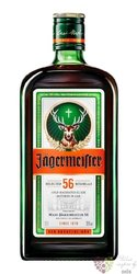"Jagermeister "" Original "" German herbal liqueur 35% vol.  0.02 l"